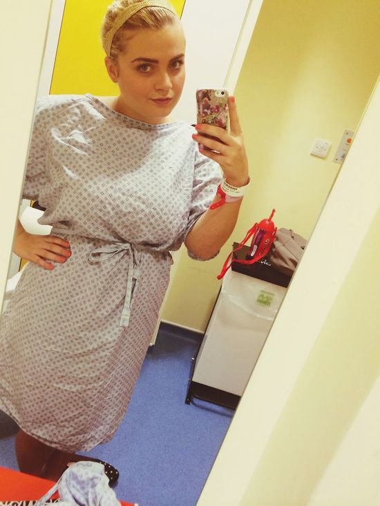 Clearly next years fashion line.. Look on the bright side.. Sick Hospital Ill Nighty