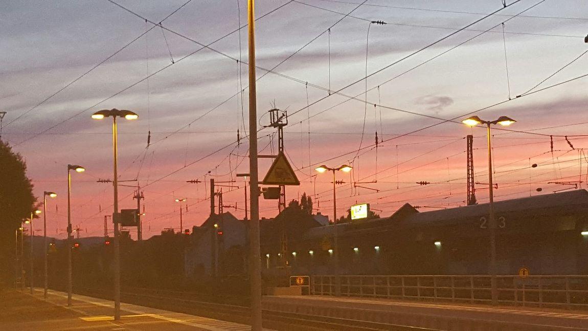 Sonnenuntergang <3 Respect For The Good Taste Let's Do It Chic! Sonnenuntergang Im Sommer