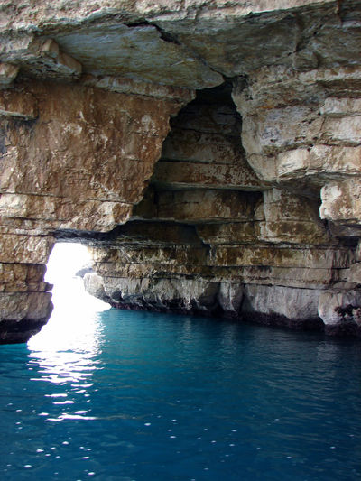 Cliff Day Desert Eroded Geology Geometry Grotta Grottammare Mare Physical Geography Power In Nature Rock Rock - Object Rock Formation Rocky Rocky Mountains Rough Rugged Sea Sea Life Stone Textured  Traveling Vieste Vieste Puglia