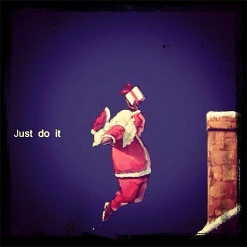 What I think Santa does haha