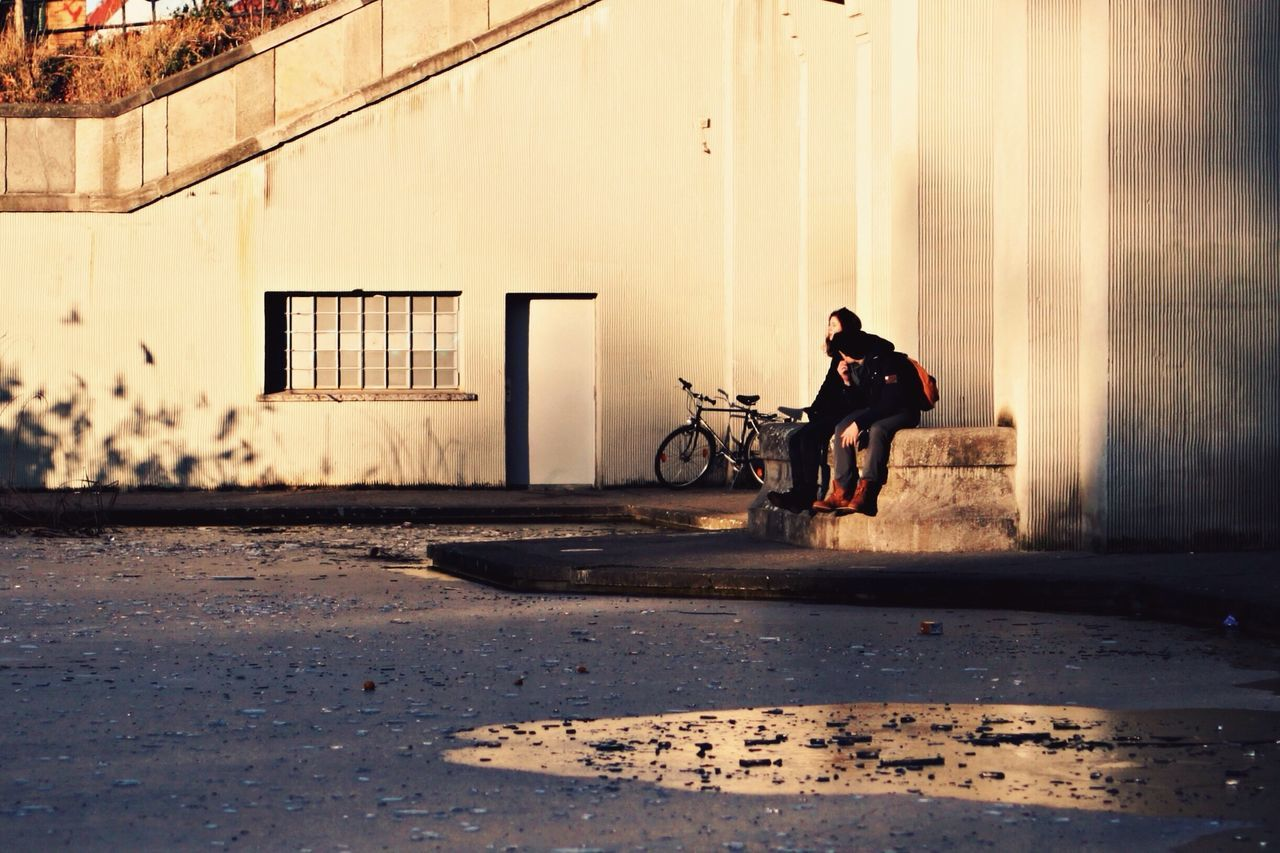 Capture Berlin Berlin Streetphotography Lake Ice Bicycle Building Exterior Sunset City EyeEm Best Shots