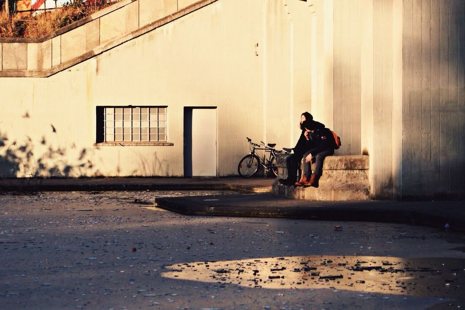 Capture Berlin Berlin Streetphotography Lake Ice Bicycle Building Exterior Sunset City EyeEm Best Shots