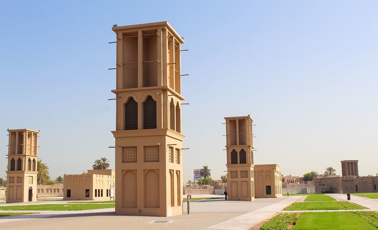 architecture, built structure, building exterior, day, outdoors, clear sky, no people, city, sky