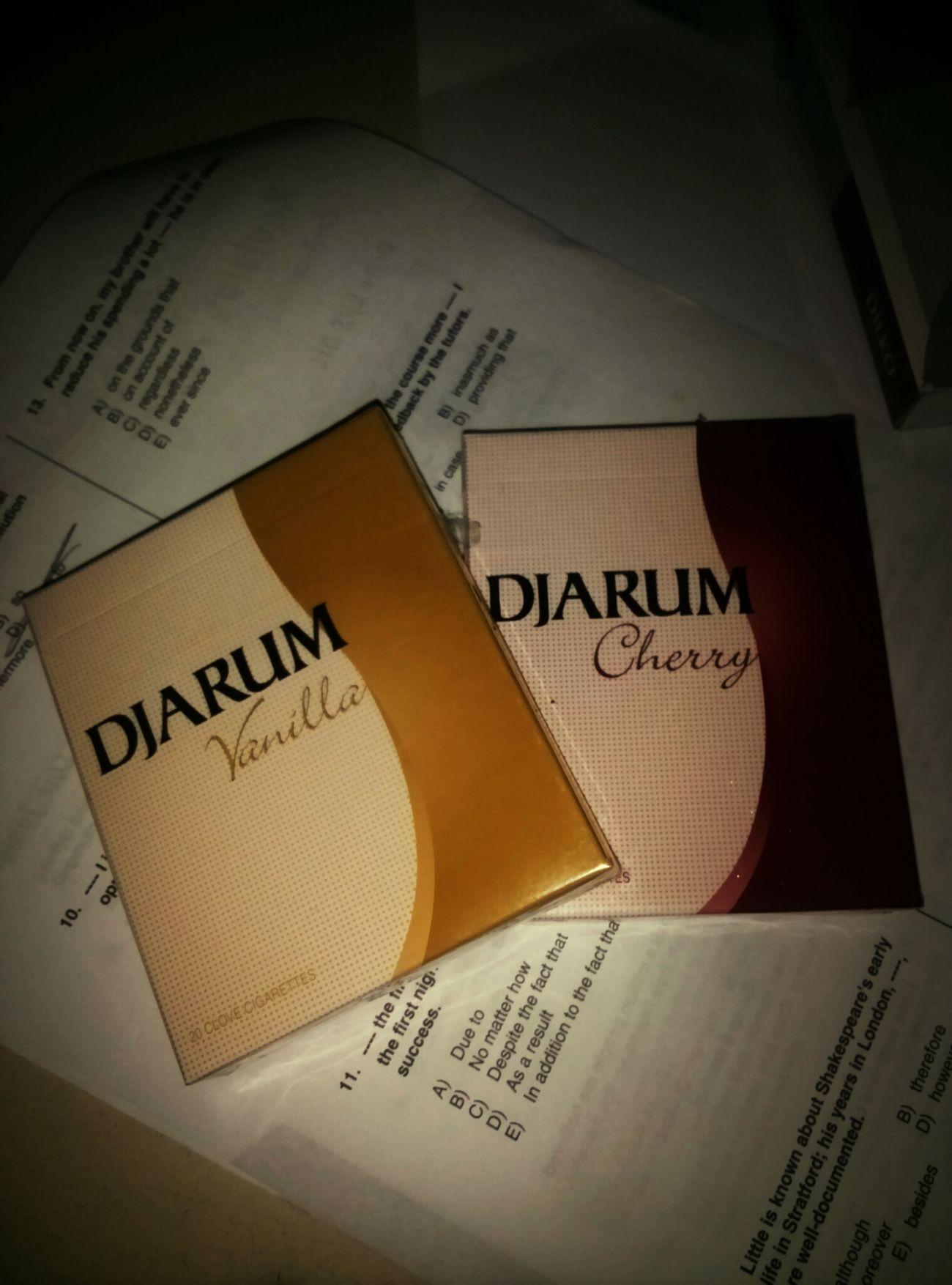 Djarum Cigarette Time Vanilla Cherry