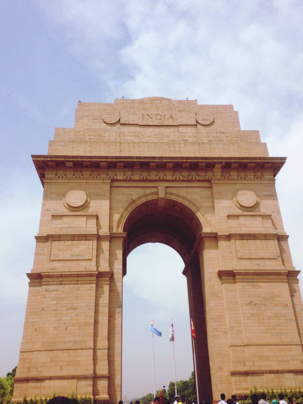 インド門 Indiagate インド 旅行 Traveling India