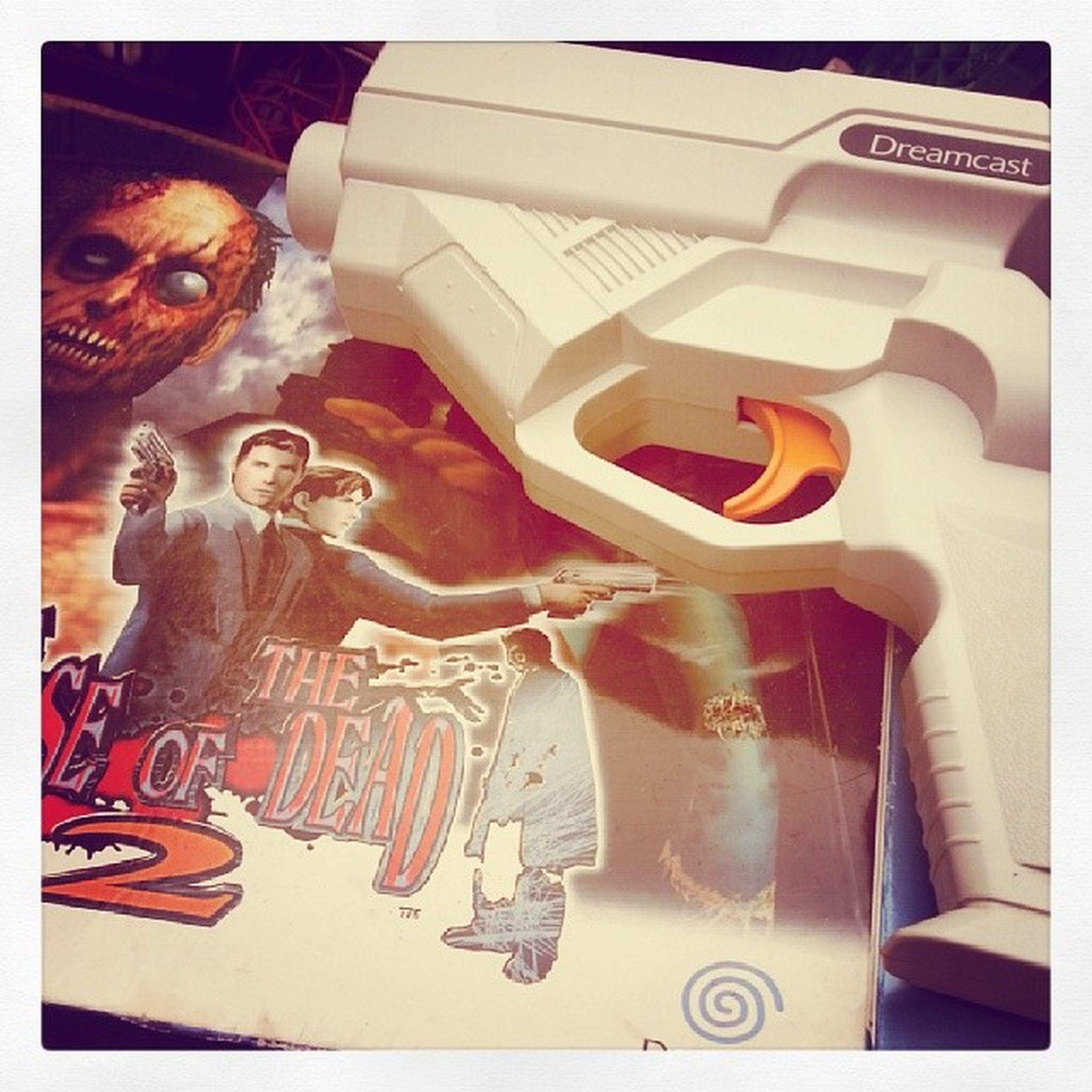 Remember? Dreamcast Sega Houseofthedead2 Dreamcastgun retrogames