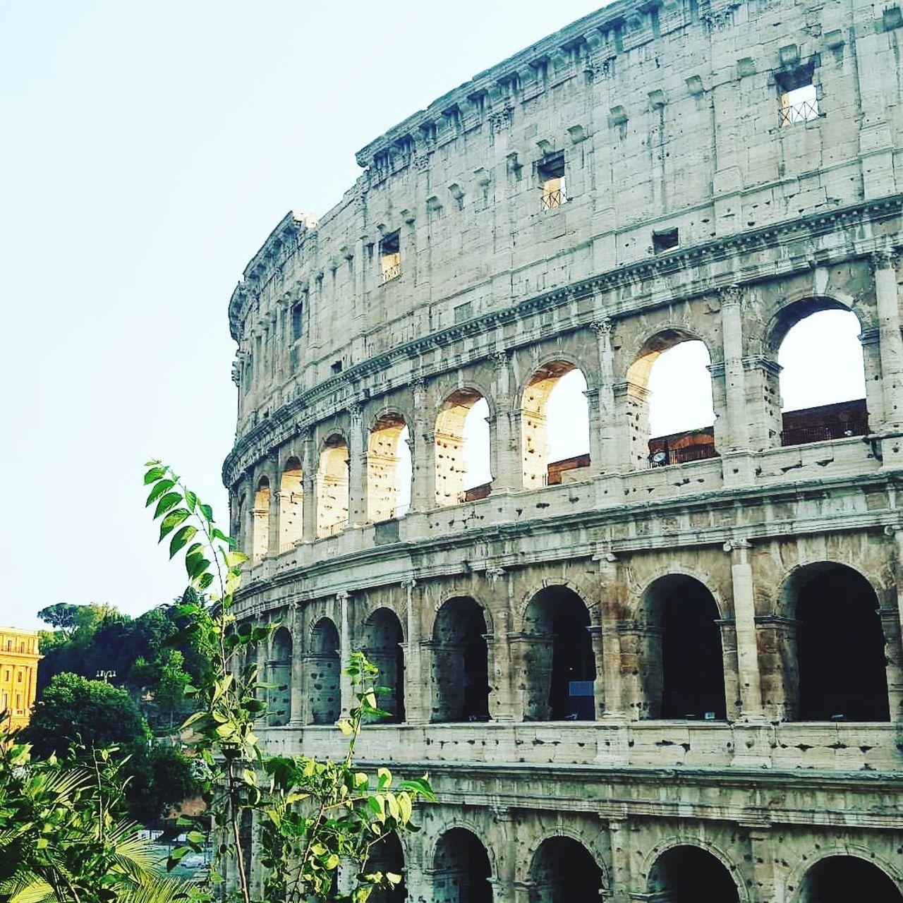 Architecture History Tourism Colloseum Rome Italy Ancient Built Structure Architecture