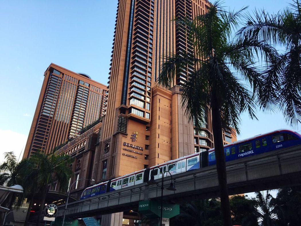 Kualalumpur Kl Berjaya Times Square Monorail  Malaysia