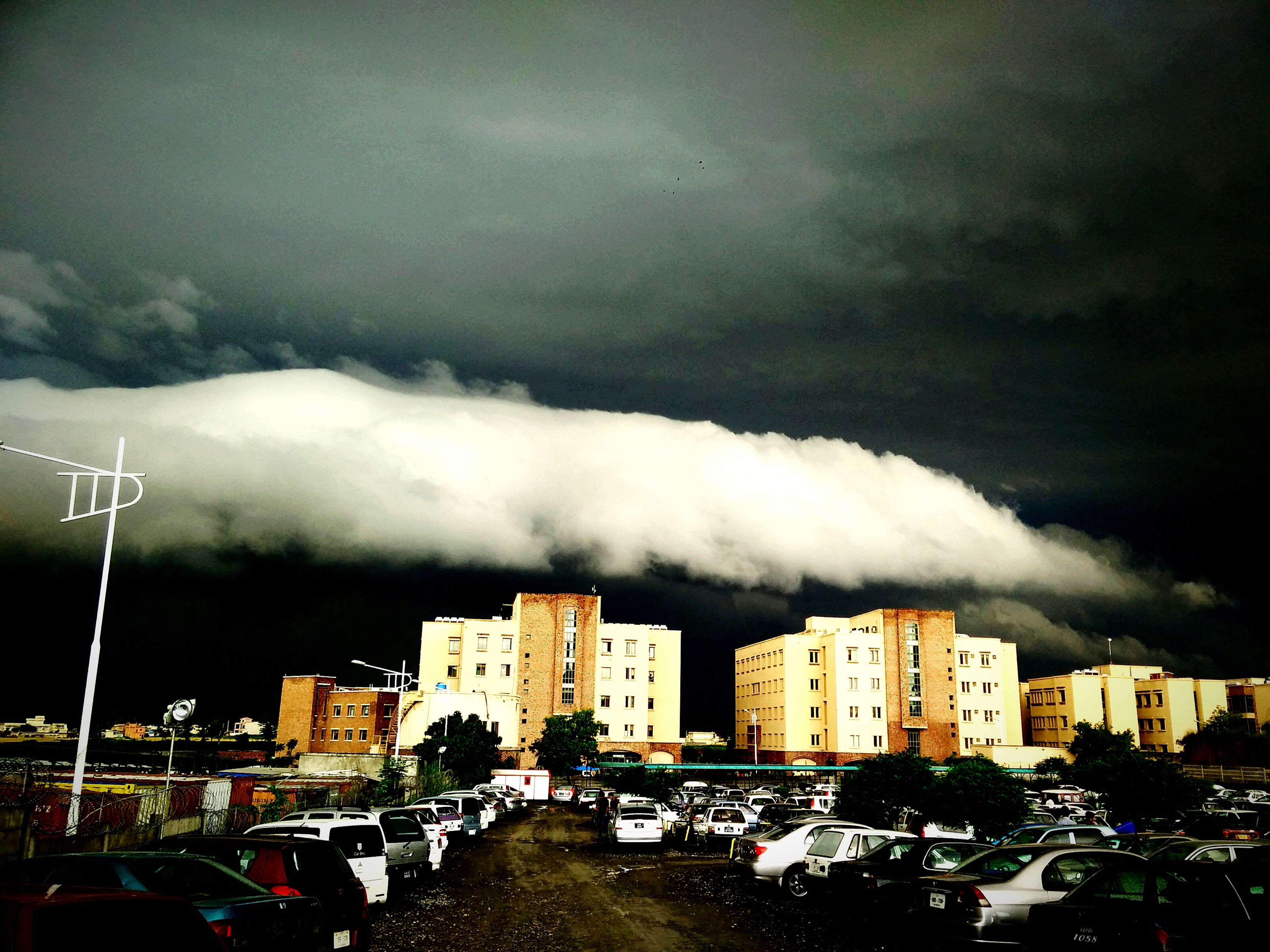 God bless us Hailonmonday Clouds And Sky University Campus Landscape Cloudporn Rain