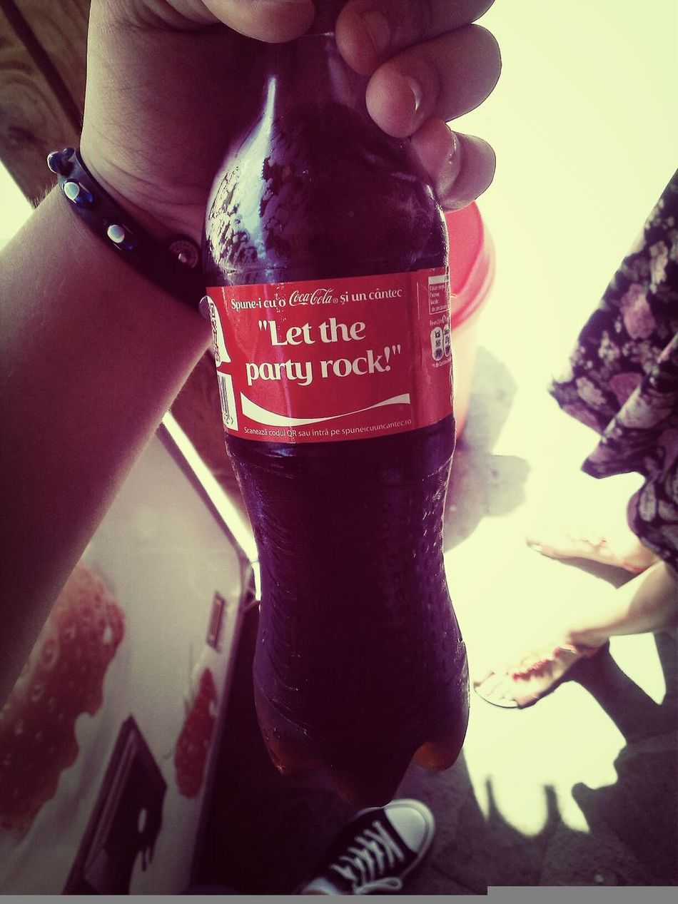 Coca-cola Let The Party Rock Relax 08.04.2014