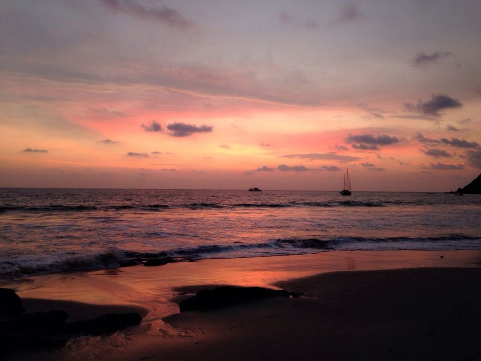 Life Is A Beach Clouds And Sky Nature Red sky