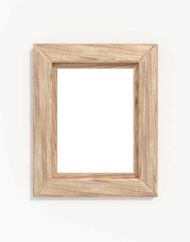 Empty wood frame on white wall Frame Wood Picture White Product Photography Blogphotography Picture Frame Photoframe Printshop Exhibition EyeEm Bestsellers