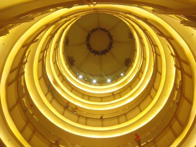 43 Golden Moments The OO Mission Mall Floors Gold Roof Ceiling @ SM Manila