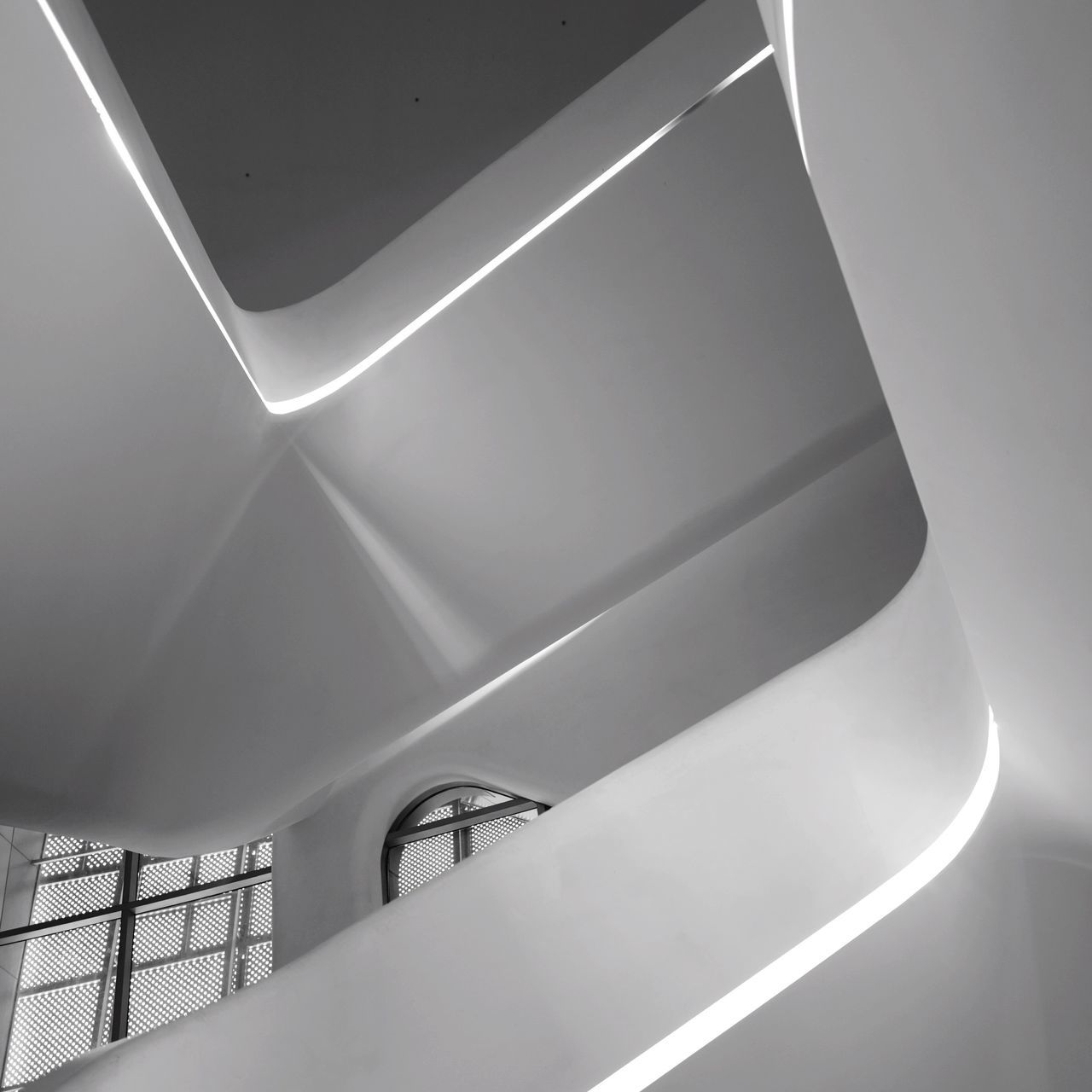 Staircase Architecture Steps And Staircases No People Modern Indoors  Day Hand Rail