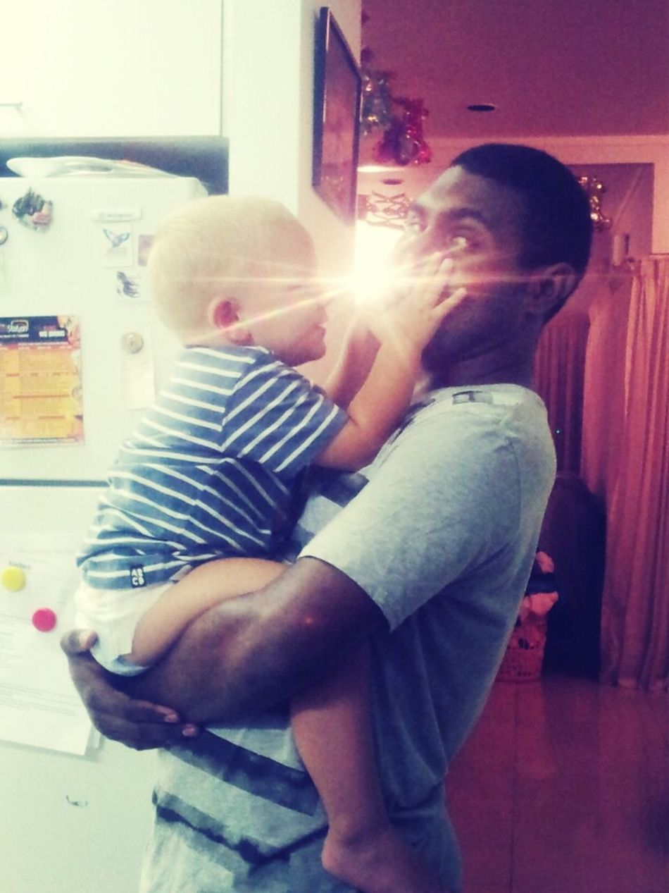 my boy Corey and I At A Friends House Black Guys Friends House British Baby Black Brit This Baby Is Too Cute Baby