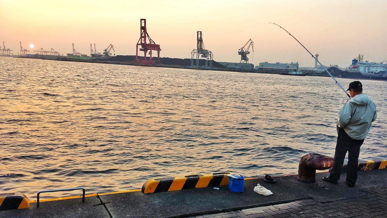 Ocean Kaiyukan Osaka Aquarium Osaka,Japan Ocean View Traveling OSAKA Ocean❤ Mobile Photography Travelphotography Mobilephotography Travel Travel Photography Samsung Galaxy S4 Samsungphotography Japon Fisherman Japanese Fisherman Sunset Sunset_collection Sunsets