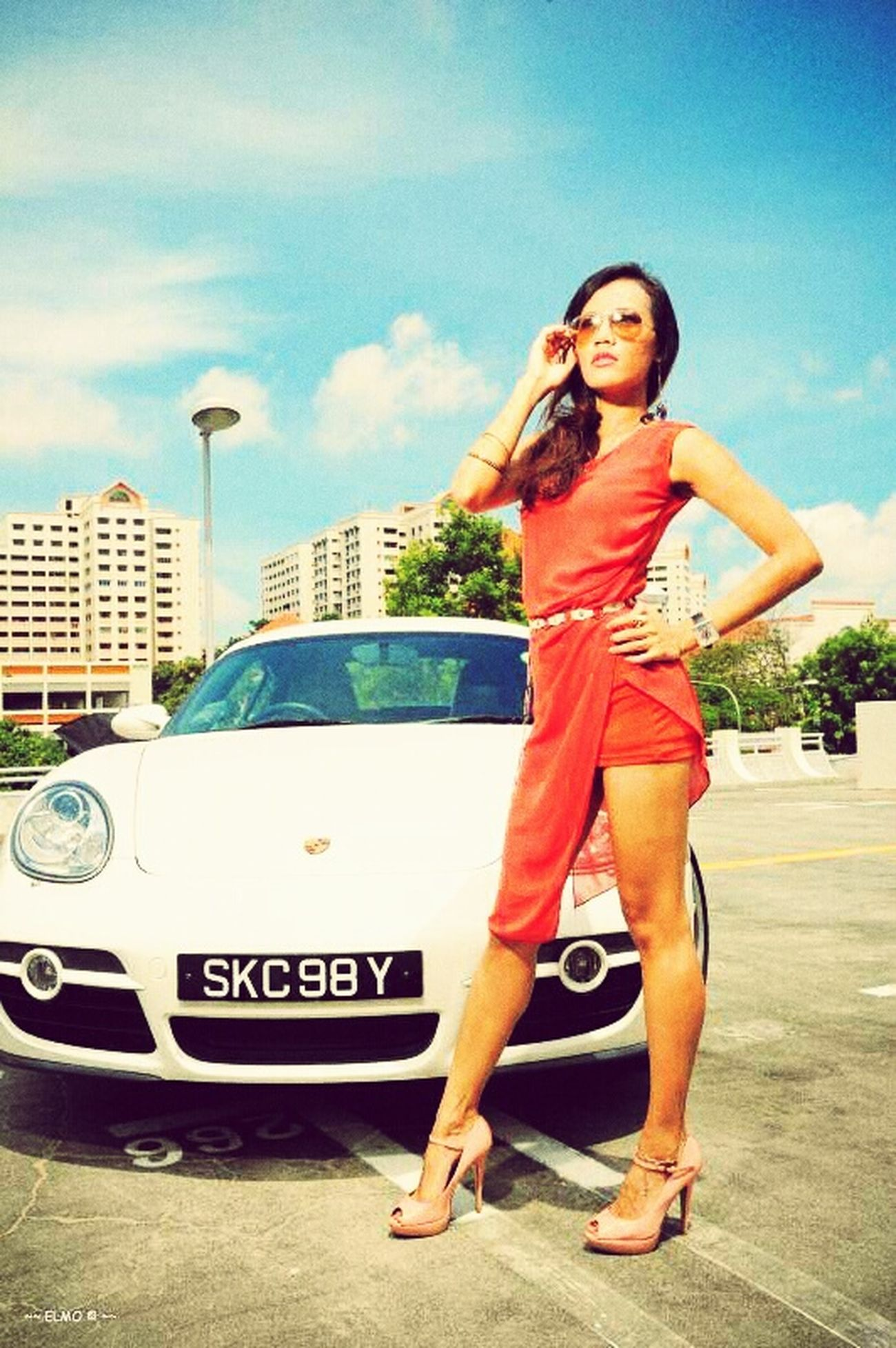 Asiangirl Asian  Photoshoot Asiantalent Porsche