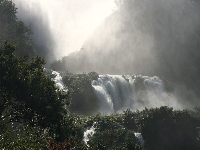 Cascate Delle Marmore Marmore Falls Waterfall Nature Beautiful Nature