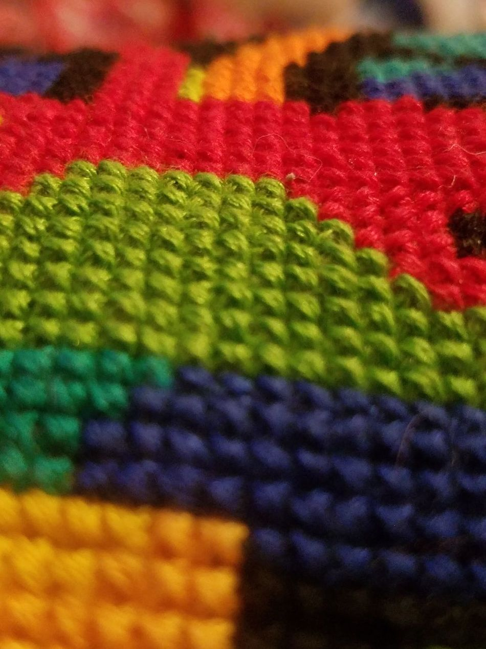 Multi Colored Textile Close-up Pattern Full Frame No People Backgrounds Indoors  Day