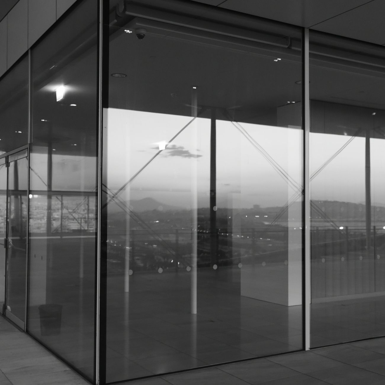 Glass - Material Business Finance And Industry Modern Office Indoors  Architecture No People Door Steel Sliding Door Built Structure Window Business City Skyscraper Technology Futuristic Cityscape Day
