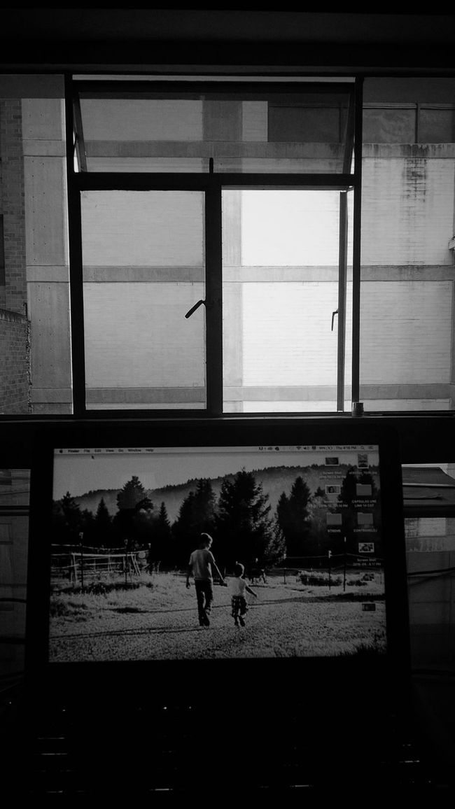 Window Silhouette Indoors  Architecture Work Workplace Black & White Monochrome Photography