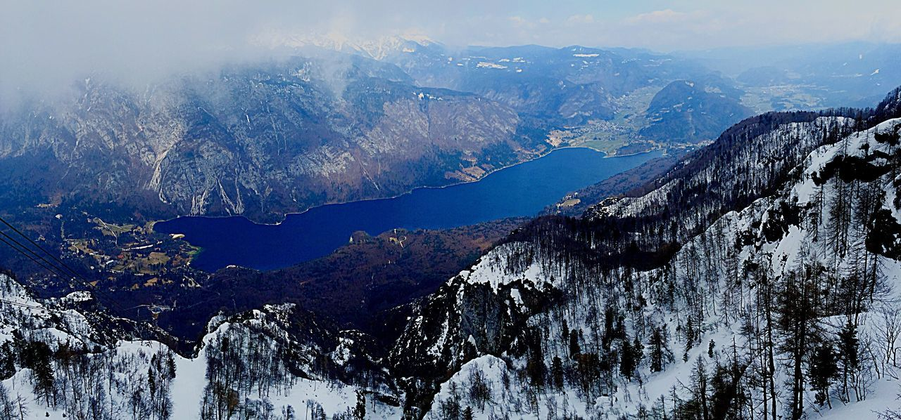 Bohinj, Slovenia Mountain Range Outdoors Snow mountain Mountain Lake