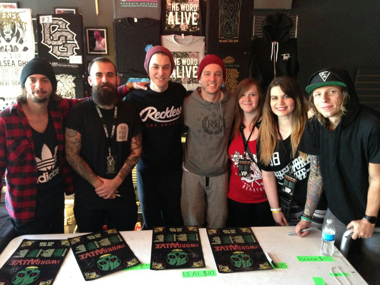 Meeting these guys is always amazing :D MeetAndGreet Thewordalive Love Concert Music