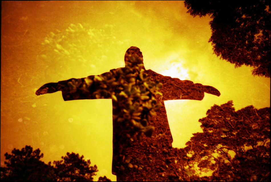 Beautiful stock photos of graphic art, Auto Post Production Filter, Beauty In Nature, Brazil, Christ Statue