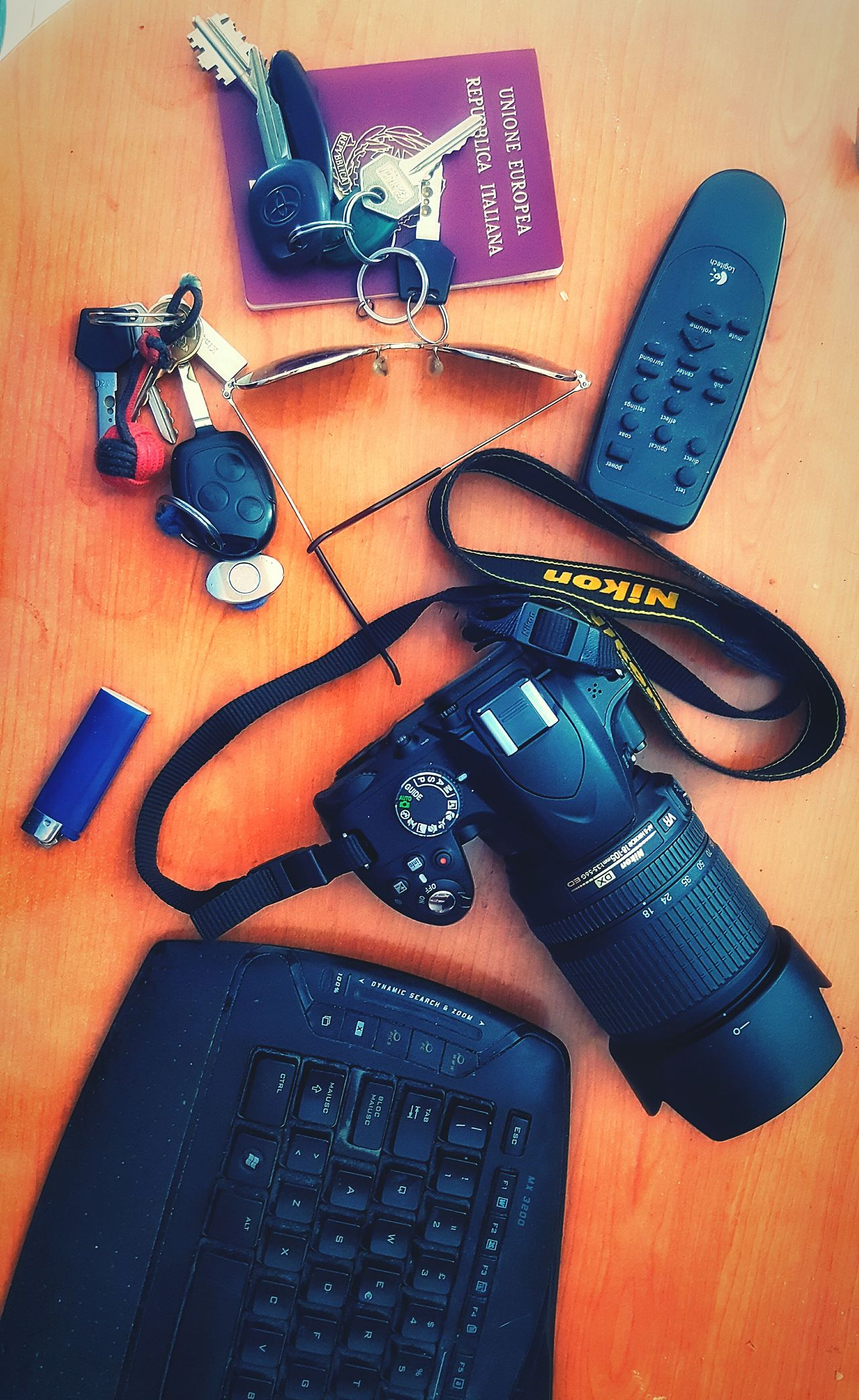 Nikon Nikon D3200 Desks From Above Desk Home PhonePhotography Phonecamera Phone Photography Mess Room Planning Day Planning A Trip High Angle View Camera Inside My Room