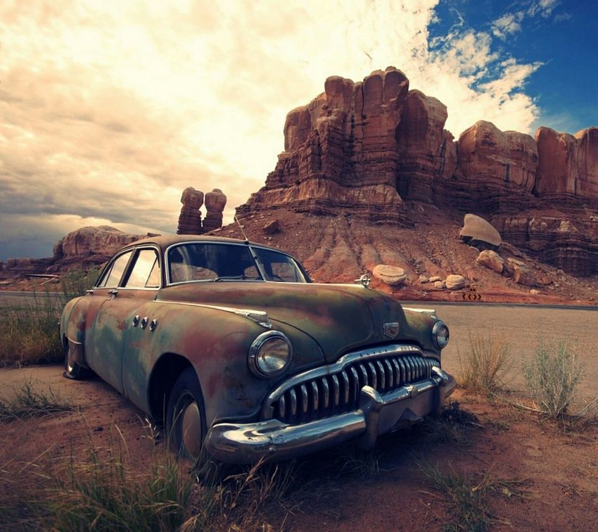Abandoned car Dusty Ancient Deserted Scapes Secondeyeemphotoshot Eyecatchingpicture