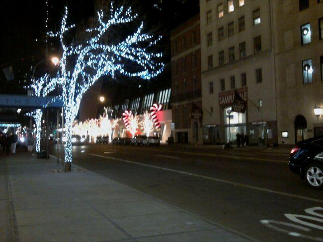 New York City Night Lights Travel Sidewalk View Hidden Gems  Battle Of The Cities Overnight Success