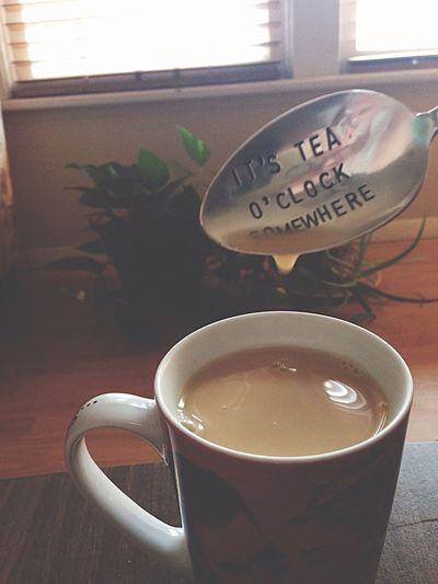 Lazy day. Filled with tea. Tea Time Drank Lazy Day Home