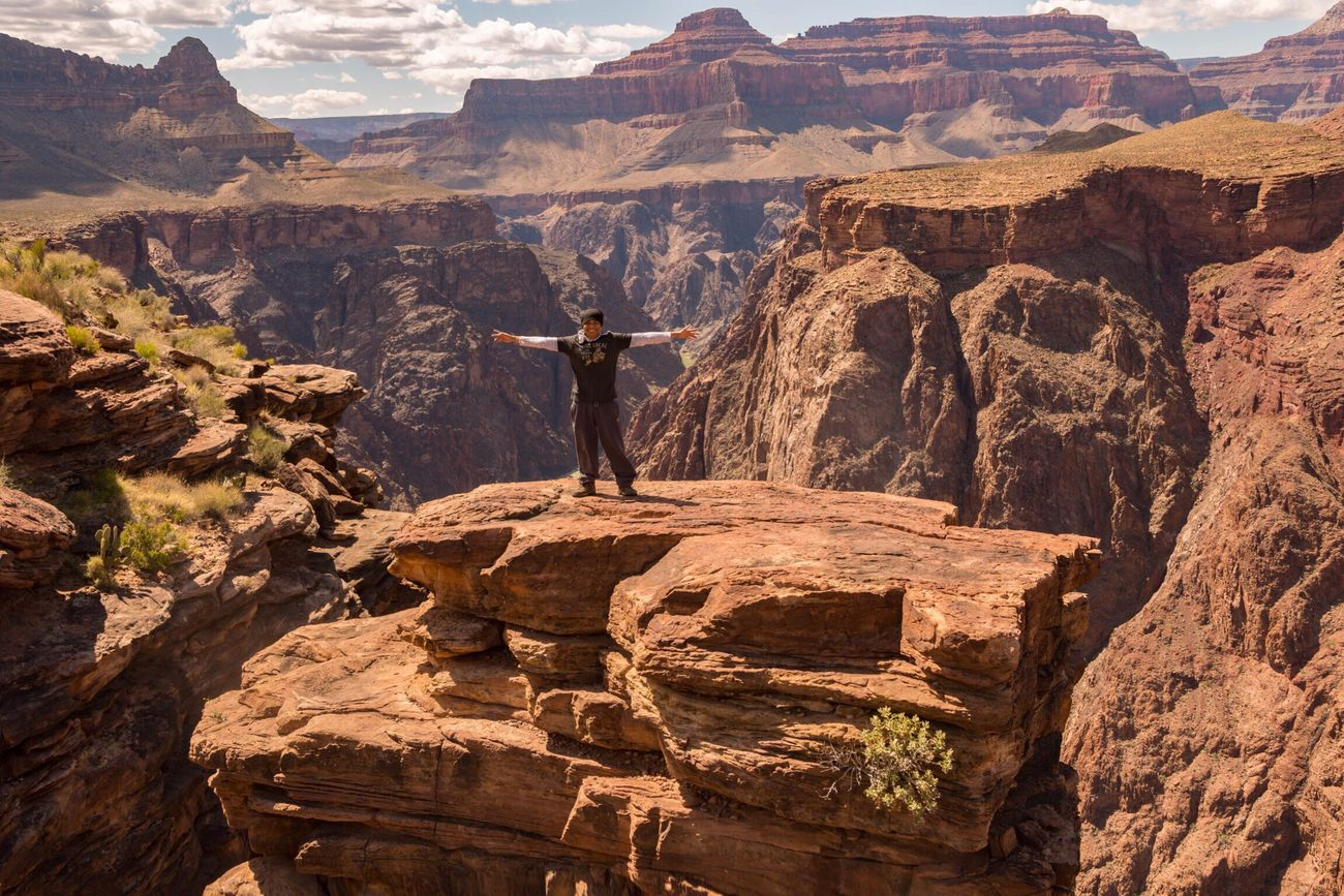 The Great Outdoors - 2016 EyeEm Awards Grand Canyon That's Me The Great Outdoors With Adobe Rock Climbing Plateau Point Great Outdoors - 2016 EyeEm Awards