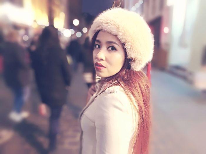 Winter is coming Beauty Portrait Fashion Elégance Winter Glamour