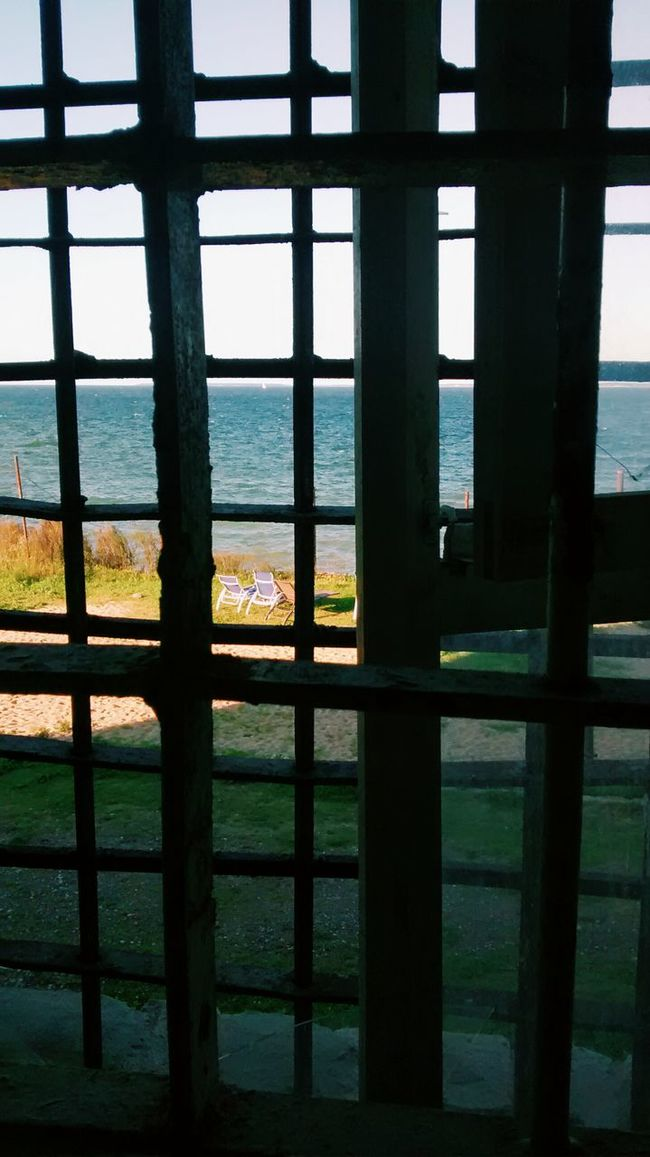 Nice View from Behind Bars in Patarei Prison