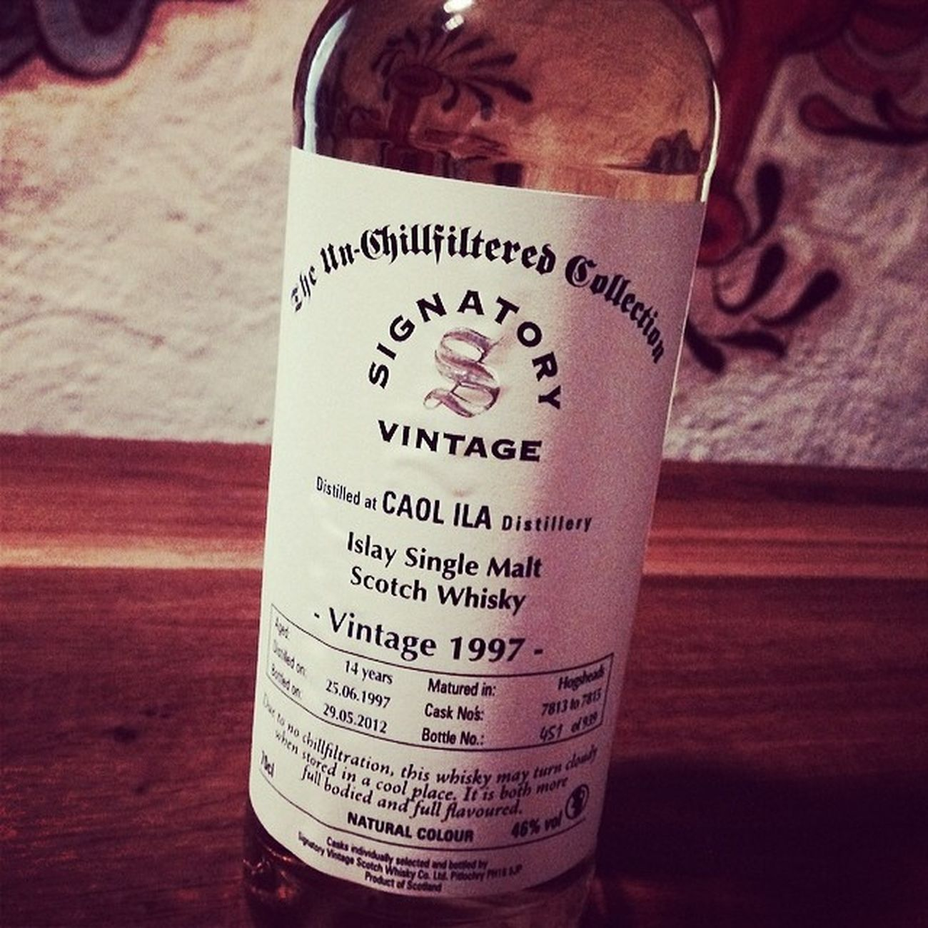 Nr. 7: Signatory Vintage, Caol Ila 1997 14 Jahre... #whiskySBH #tasteup Schottland Singlemalt Tasteup Vintage Whiskysbh Whisky Caolila Islay Whiskyporn Scotch Unchillfiltered Malt 14jahre Slàinte 14years 1997 Signatory Immendingen Brennerhof Tuttlingen Scottland