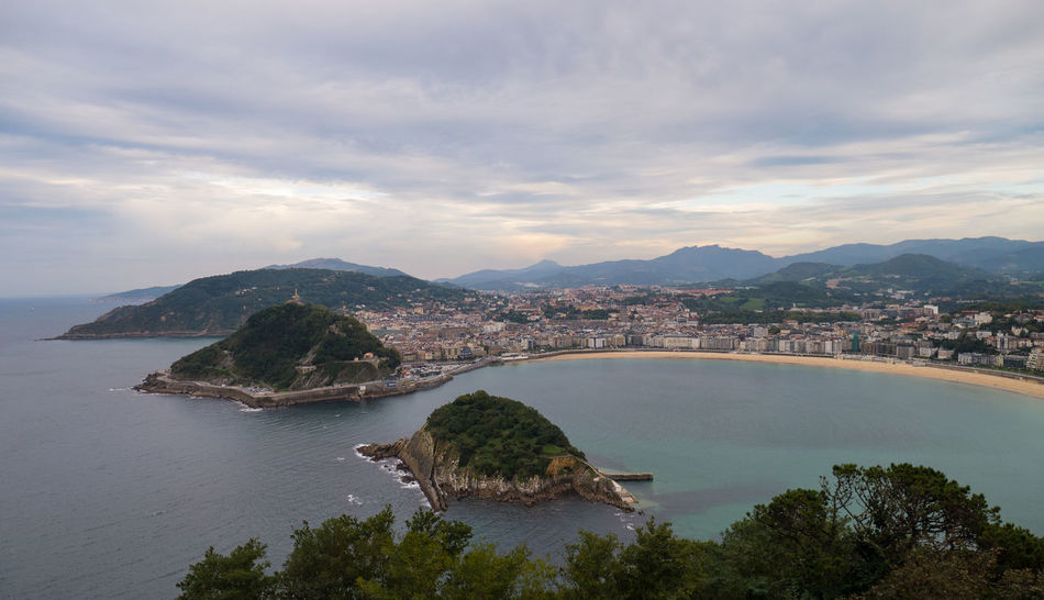 La Concha San Sebastian Sea And Sky Travel Destinations