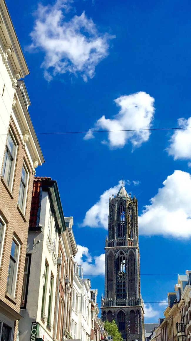 Domtoren Utrecht Taking Photos Clouds And Sky Eye4photography  Street Photography Streetphotography EE Love Connection! I Love My City Sky Collection