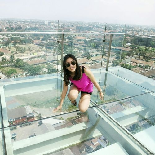 Faces Of Summer Skyscrapers Glassfloor High Candid Candidshot Bandung INDONESIA Summer2015 Holiday #vacation