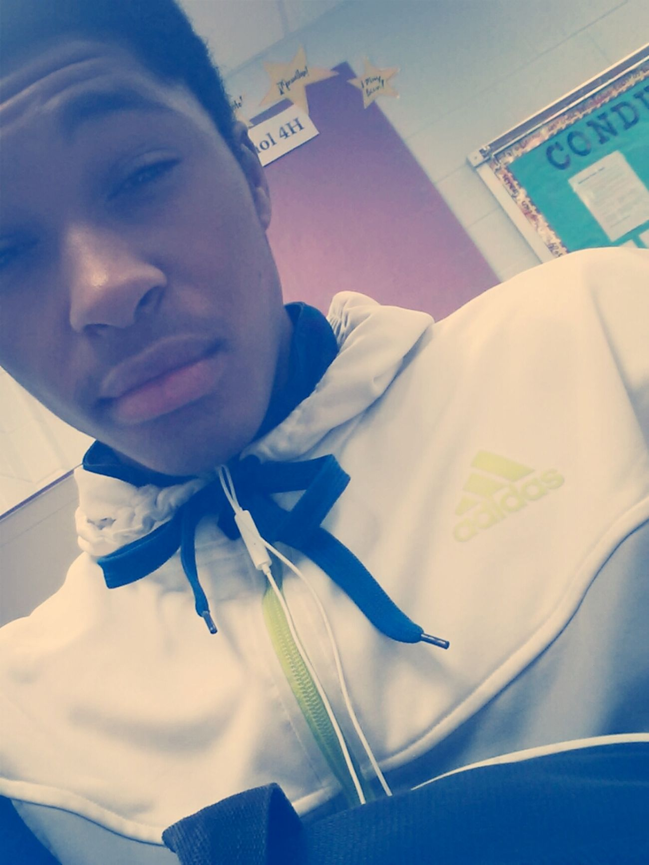 Stuck In My Spanish Class . 