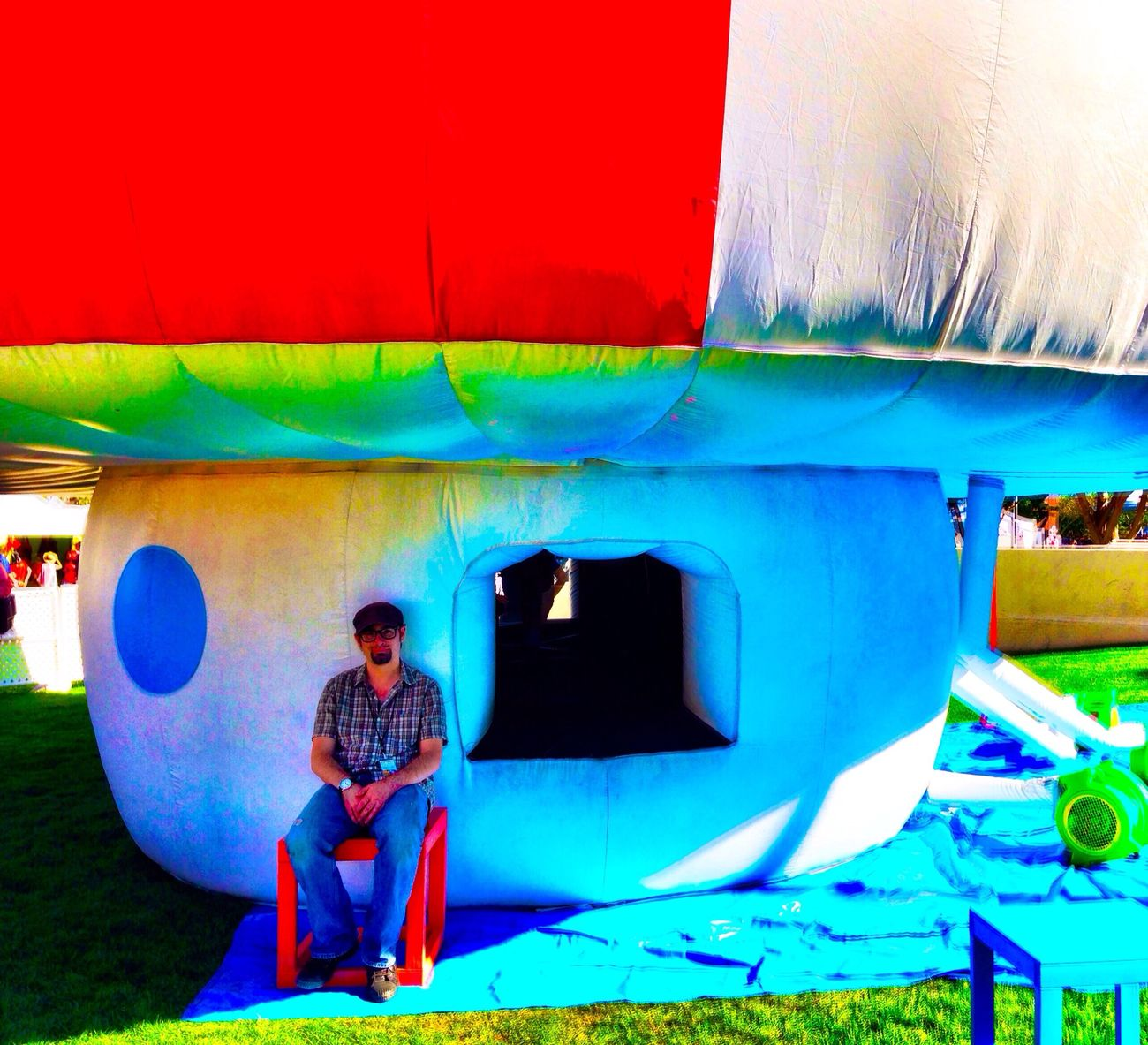 Great time with Scottsdale Public Art at the Scottsdale Arts Festival today with Friendswithyou IPhoneography