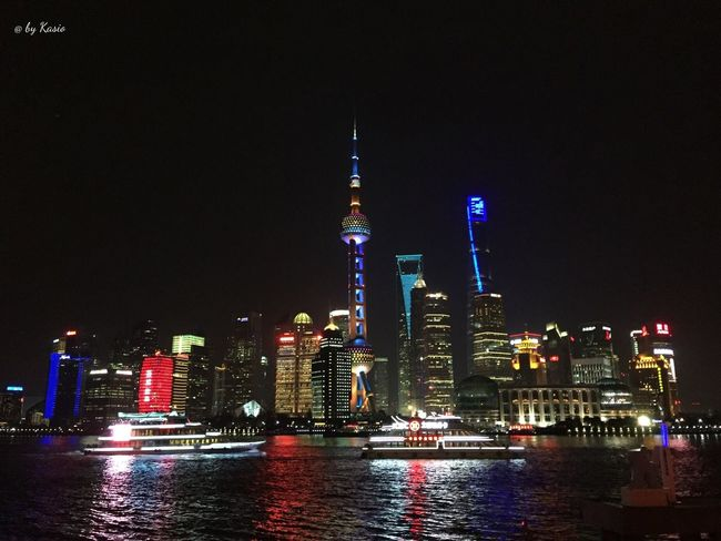 Traveling Travel Photography EyeEm Best Shots Eye4photography  Taking Photos Shanghai Urbanphotography Urban Landscape Urbanexploration Landscape_Collection EyeEm Best Edits Color Photography Urban Geometry Sea And Sky Colorful Water_collection Light Nigth Ligths Night Nigthphotography Wather Reflections