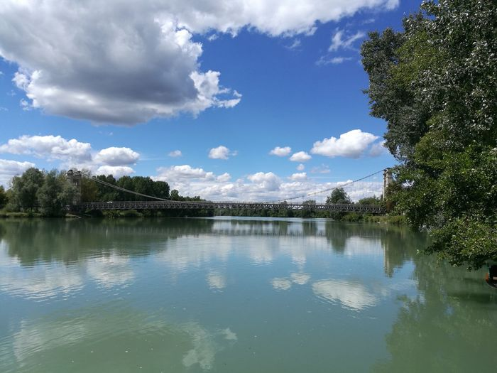 Beauty In Nature Cloud - Sky Day Lake Nature No People Outdoors Reflection Scenics Sky Tranquil Scene Tranquility Tree Water