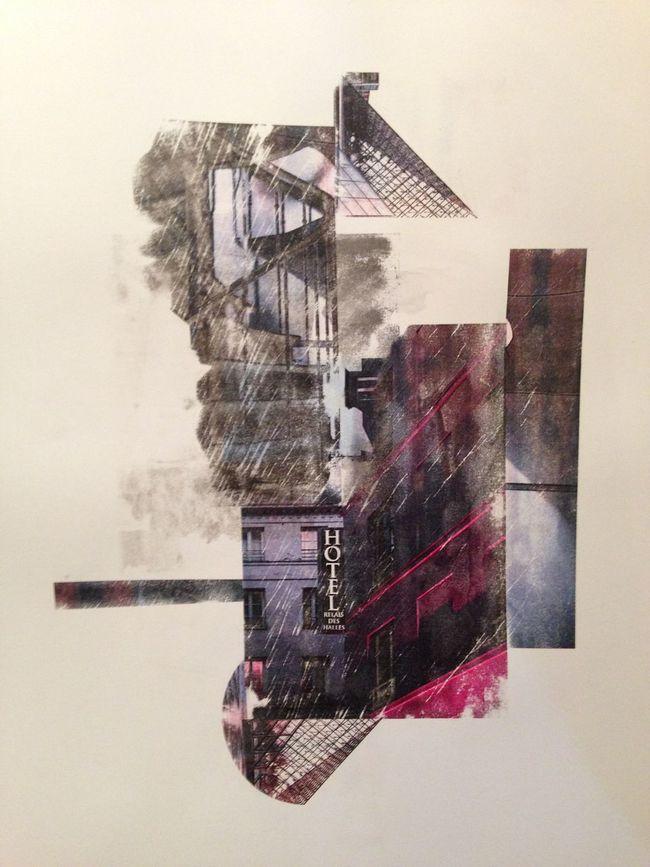 new work at Saatchi Online... Paris Paris, France  Composition Construction Collage Saatchi Gallery Saatchigallery ArtWork Art Daffkehollstein