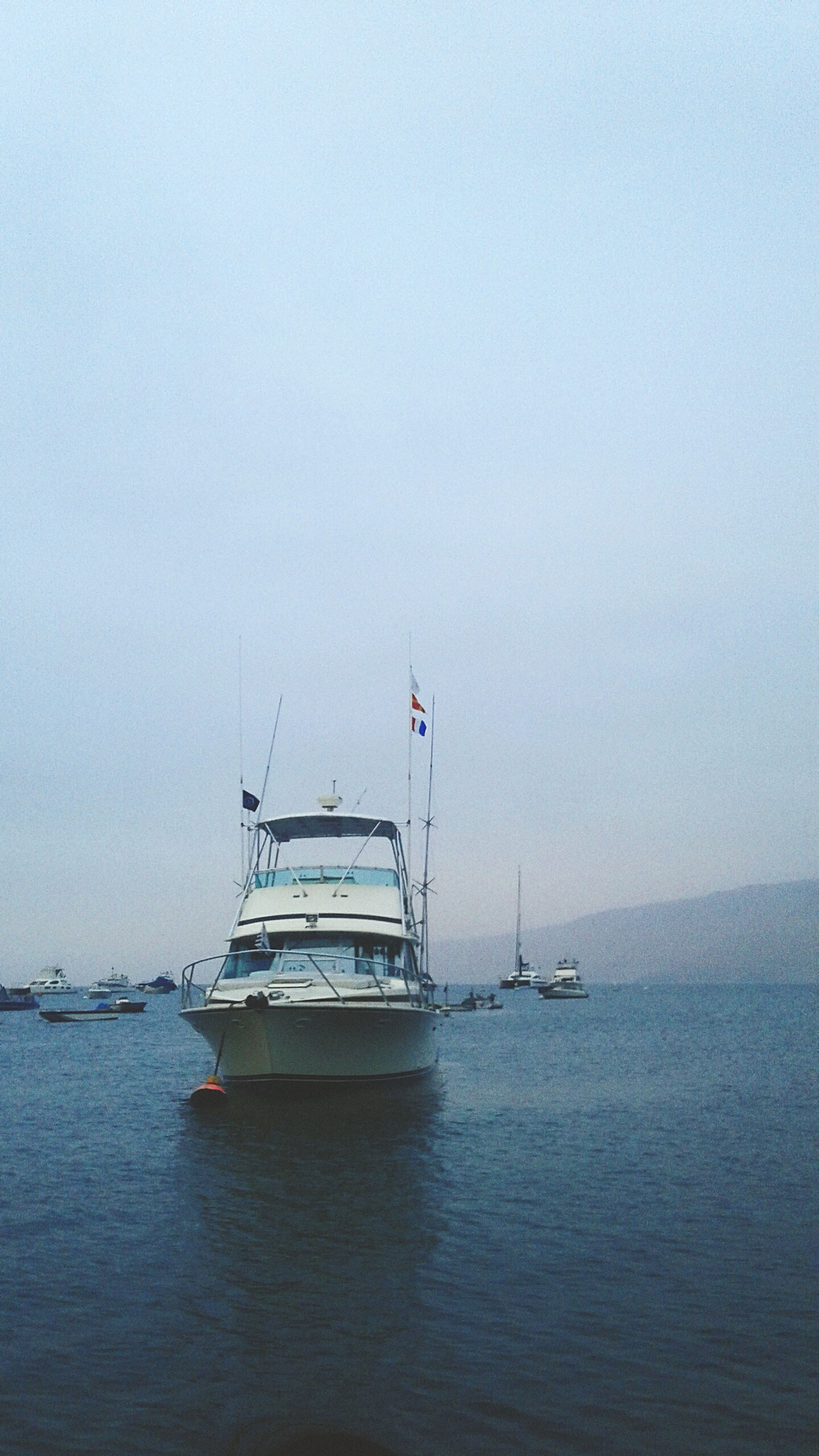 Breathtaken sea Pacific Ocean Outdoors Harbor Tranquility Beauty Horizon Over Water