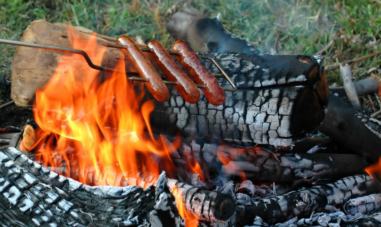 flame, burning, heat - temperature, barbecue grill, barbecue, no people, coal, outdoors, fire pit, close-up, food, bonfire, day, ash