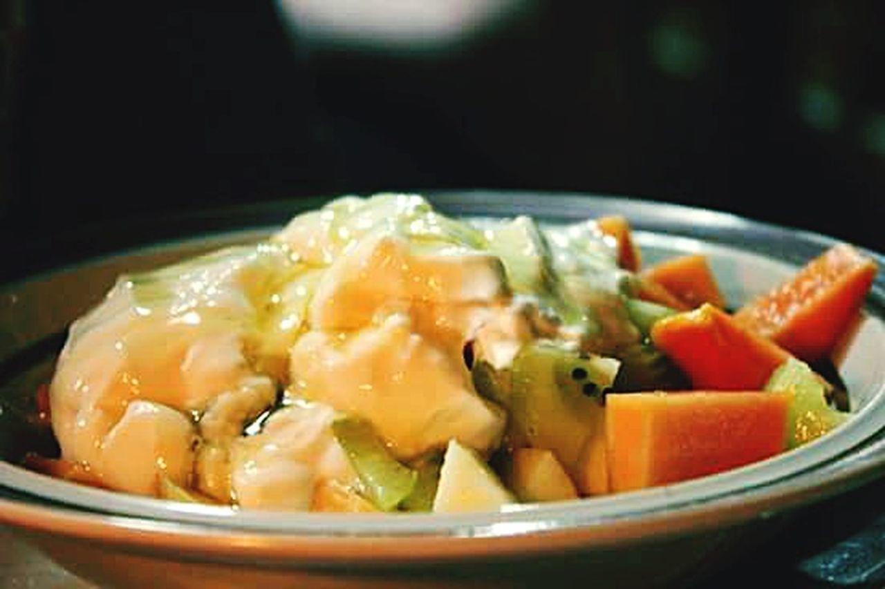 Freshness Appetizer Temptation Kiwifruit Dessert Fruit Salad Wheninsagada Yogurthouse Sagada Adventure