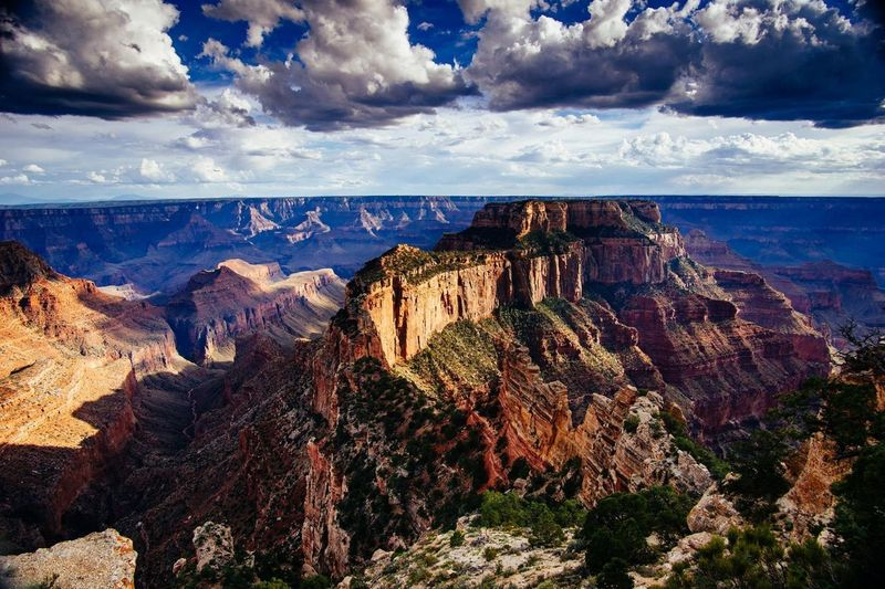 Nature Rock - Object Geology Travel Beauty In Nature Cloud - Sky Scenics Sea Landscape Outdoors No People Horizon Over Water Sky Day Grand Canyon First Eyeem Photo