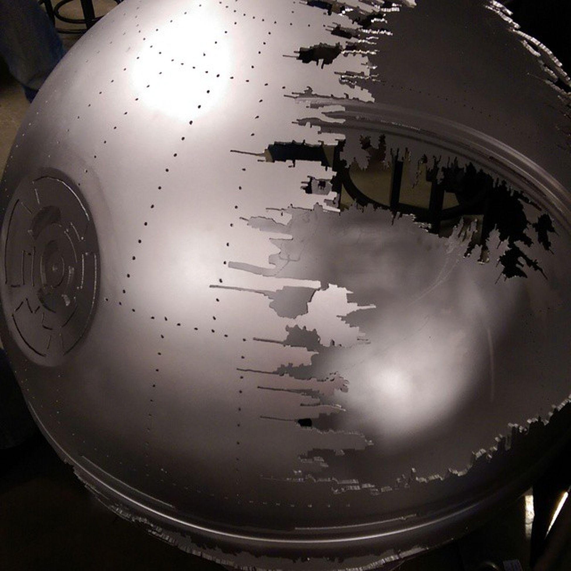 Yep, I'm breaking down and getting the Death Star firepit for the backyard. Starwars Imdoingit Bestofinstagram Deathstar