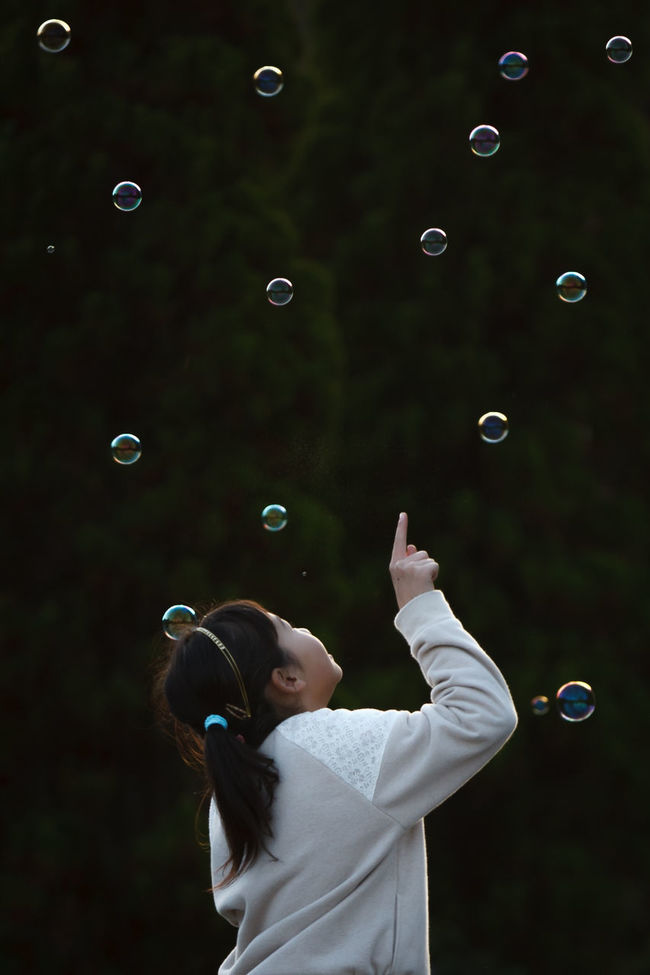 Bubbles Girl